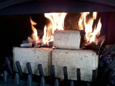 brykietkominkowy.pl extra kostka ruf w kominku palący się