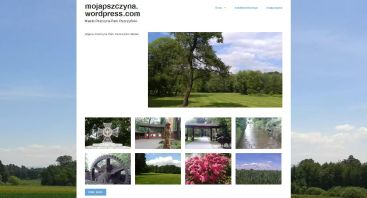 mojapszczyna.wordpress.com zrzut ekranu