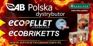 Ecopellet ecobrykiet Barlinek od AB Polska brykietkominkowy.pl